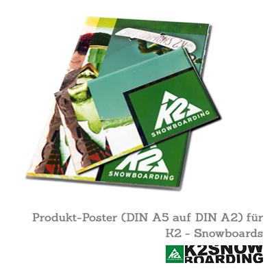 K2 Snowboards - Produktkatalog (Posterformat)