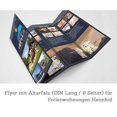Flyer - Ferienwohnungen Heimhof - Garmisch-Partenkirchen