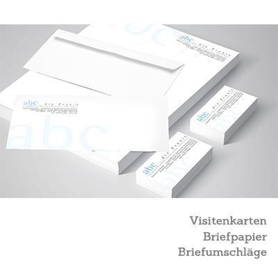 Geschäftspapiere für: abc... die Praxis - Logopädie in Garmisch-Partenkirchen